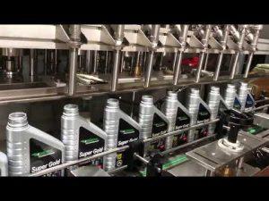 Plná automatická linka na plnění mazacího oleje mazacím olejem pro pístové mazivo