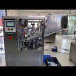 automatický plastový trubkový plnící stroj na těsnění zubní pasty na ruce