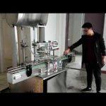 kosmetický plnící stroj, automatický plnící stroj na pístové pasty na tekuté mýdlo