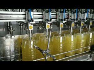 automatický plnící stroj na plnění pístových mazacích olejů