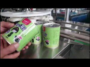plně automatický kosmetický stroj na plnění lahví s uzávěrem