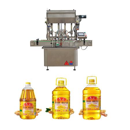 automatický rotační stroj na plnění oleje