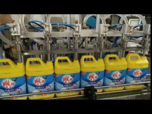 automatický 8 plnící stroj na šampon na prací prášek