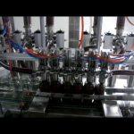 lineární automatický 4 hlavy pístová láhev viskózní kečup omáčka kapalina balicí stroj