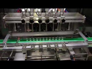 automatický plnící stroj na dezinfekci alkoholu pro každodenní chemický průmysl