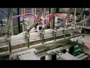 automatický pístový lineární čisticí prostředek, šampon, mazací olej viskózní kapalina na plnění lahví