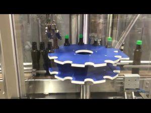 lanp hliníkový šroubovací uzávěr automatický uzavírací uzavírací stroj na skleněnou láhev