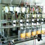 automatický 5 plnící stroj na lahve s pístovým olejem