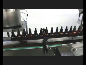 automatický lak na nehty parfém oční kapky lektvar plnění capping machine