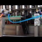 automatický stroj na plnění rajčatovou omáčkou z čokoládového arašídového másla