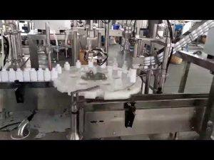 kosmetika lékařské plastové láhve plnění capping machine