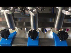 Plná automatická pístová šamponová tekutá láhev plnící cena stroje
