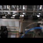automatický stroj na plnění tekutých detergentů a dezinfekčních tekutin