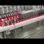 automatický plnící stroj na antikorozní a antiseptické bělidlo