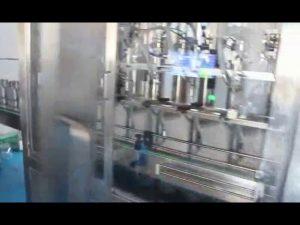 auto olej plnící stroj, kompletní motor mazací olej plnící stroj