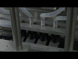 10ml-5l 6 hlavový automatický stolní stroj na plnění tekutin