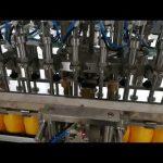 Dvouhlavý automatický plnící stroj na kečupové oleje omáčka kosmetický