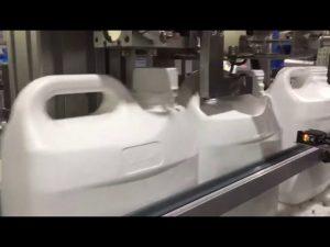 automatický 4 plnící stroj na tekuté a krémové 4 trysky