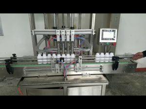 automatický stroj na plnění viskózní tekuté pasty na tekuté mýdlo, tělové mléko, šampon