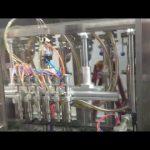 automat na plnění lahví olivového oleje