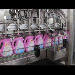 automatický jedlý olej, olivový olej, stroj na plnění lahví šampónů na lahve s detergentem