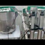 15ml 30ml oční kapky, cbd olejové skleněné kapátko lahvičky plnění capping machine