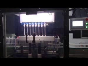 stroj na plnění toaletních tekutin