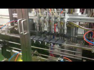 plc control automatický píst olivový olej plnící plnicí stroj