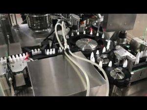 farmaceutický uzavírací stroj na plnění kapek do 20 ml malé lahvičky