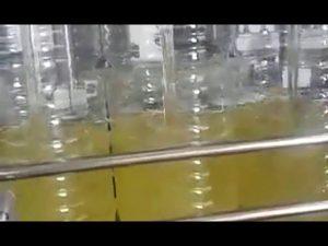 automatické plnění lahví jedlý olej balicí stroj