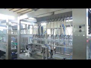 továrna automatická lineární viskózní kapalina jedlý olej láhev plnicí stroj