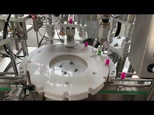 automatická elektronická cigareta kapalina, cbd olejová náplň uzavírací uzavírací etiketovací stroj