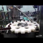 plnící a těsnící stroj na bázi rampouchu s vodním roztokem hdpe