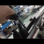 automatický inline rovný skleněný láhev hliníkový uzávěr lanp capping machine